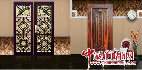 木门设计越来越多中国风