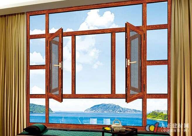 但推拉窗在加工制作与操作使用上要优于平开窗.