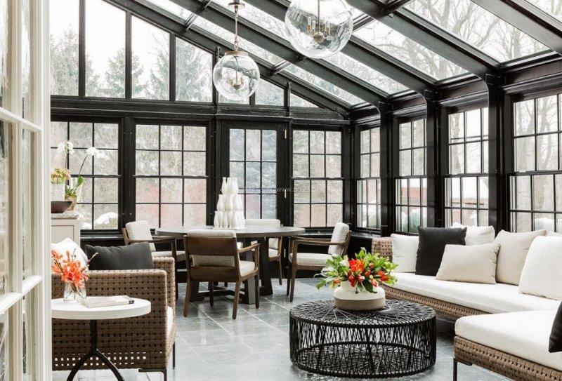 别墅阳光房如何设计 才能符合尊贵的身份