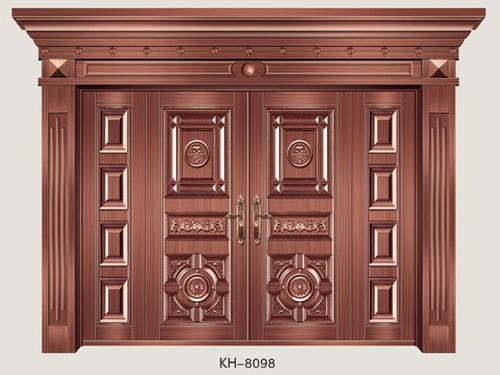 铜铝格局别墅KH-8098-浙江武义凯华铜铝大门布置别墅别墅图片
