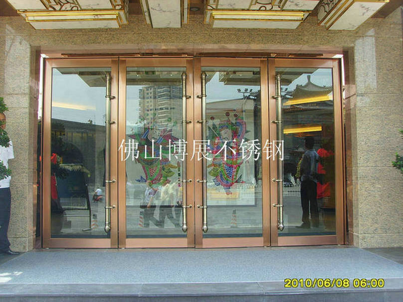玻璃门门头设计图