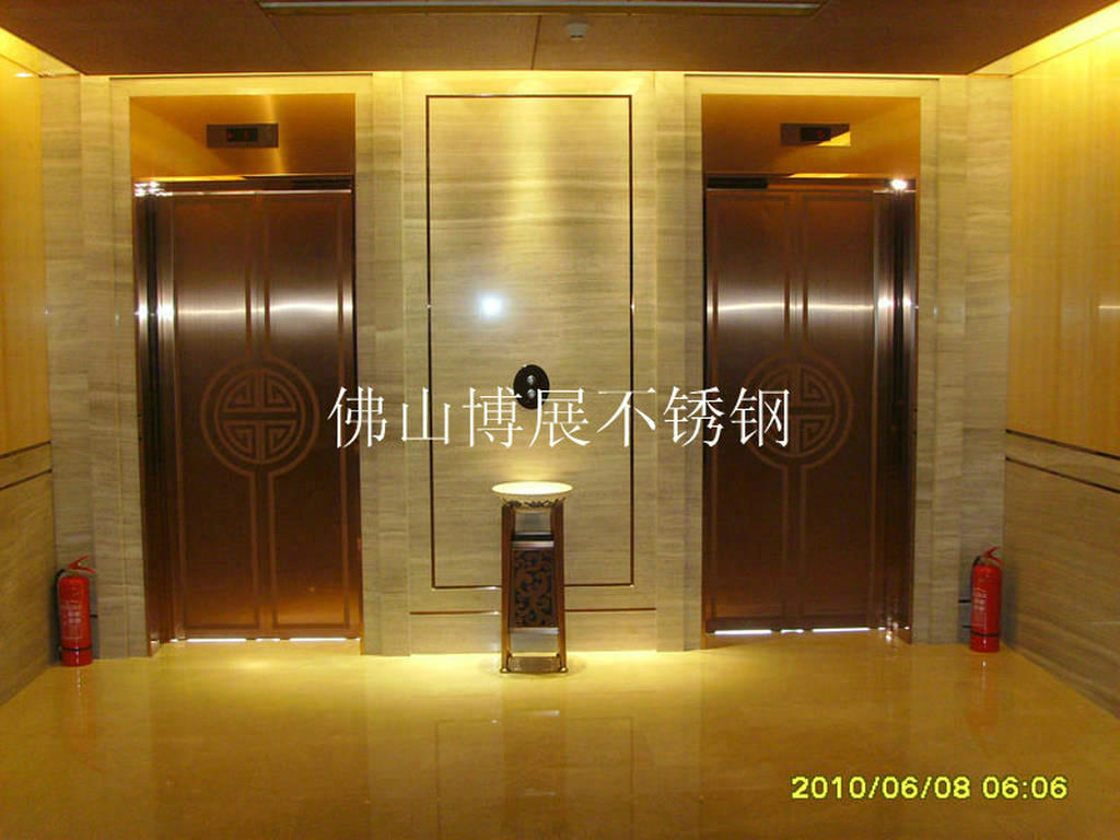 真空电镀不锈钢电梯门,高档不锈钢装饰门 可按客户要求定制