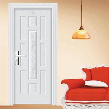 > 钢木室内门系列  企业:永康市至臻工贸有限公司 类别:钢木室内门
