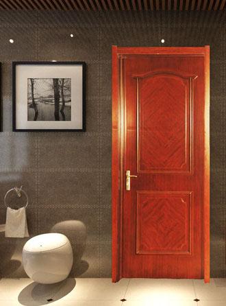 纯实木门和实木复合门