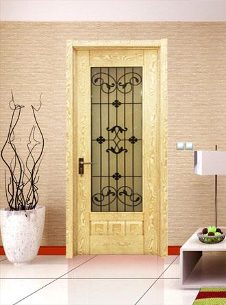 盼宁木门 房间套装门 烤漆复合木门
