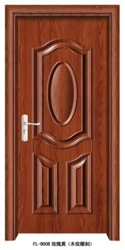 门业图片-钢木室内门钢木门fl-9008