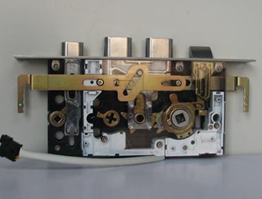 志安四线电控锁接线图