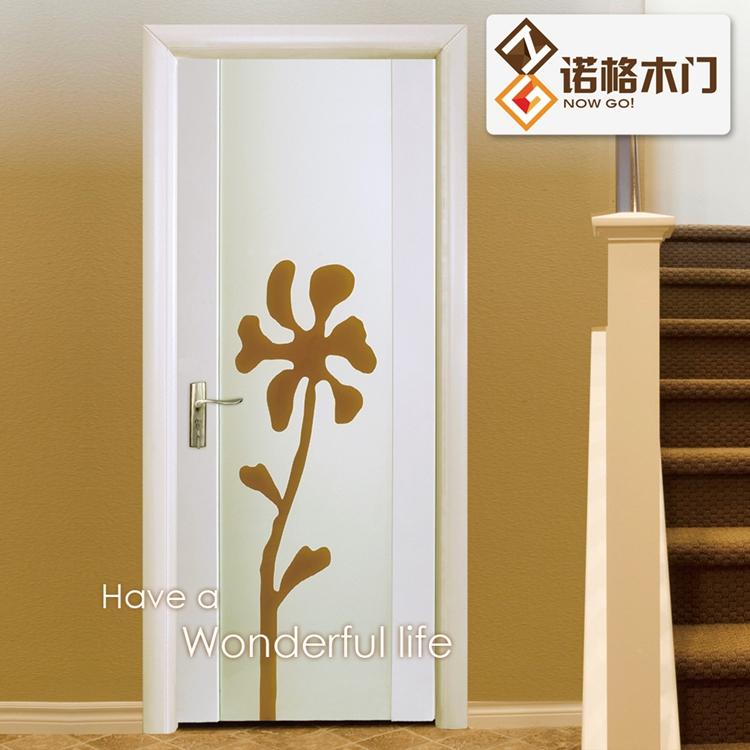 诺格木门 实木复合 烤漆门 玻璃门 hb0113 hb0113