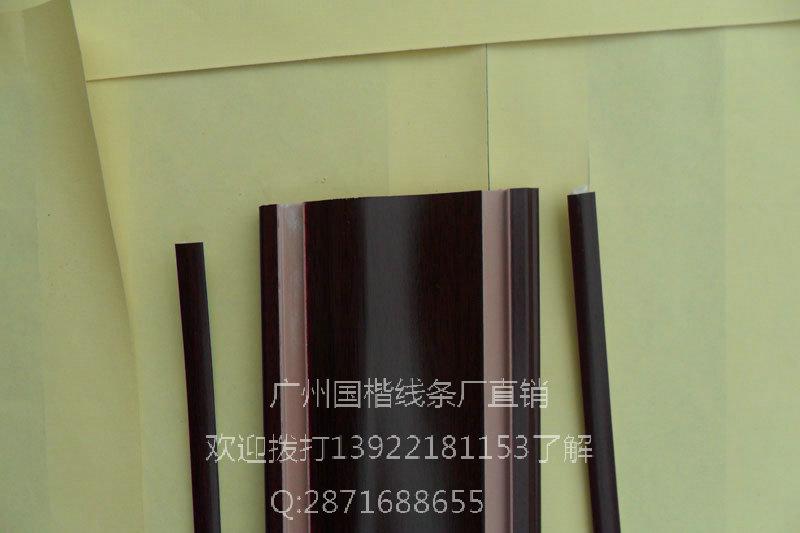 门业图片-木塑线条广州国楷木塑门套线多种图片