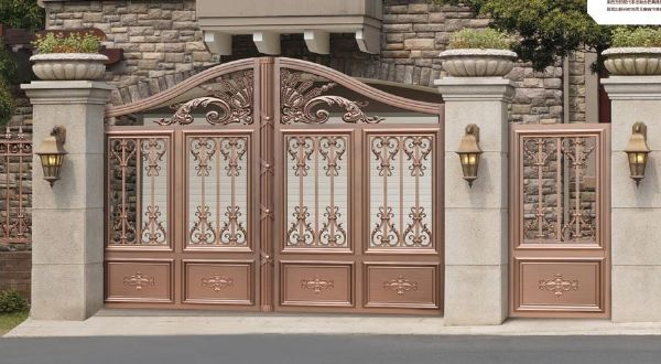 门业图片-庭院门庭院门系列jdw-8012图片