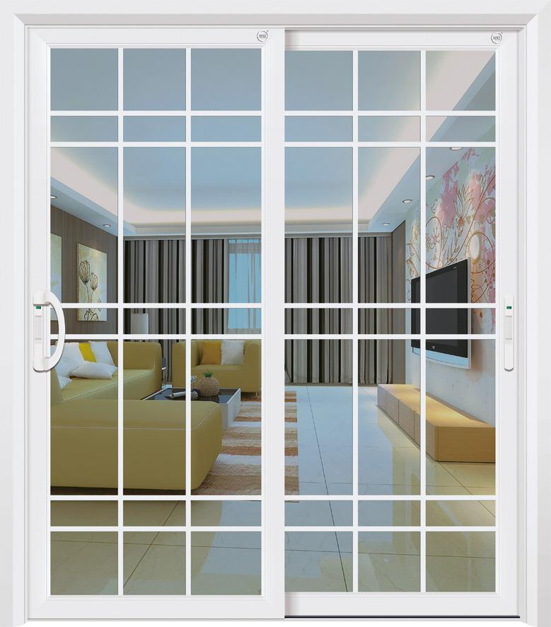 门业图片-75圆弧吊趟/推拉门系列尊霸门窗供应铝合金