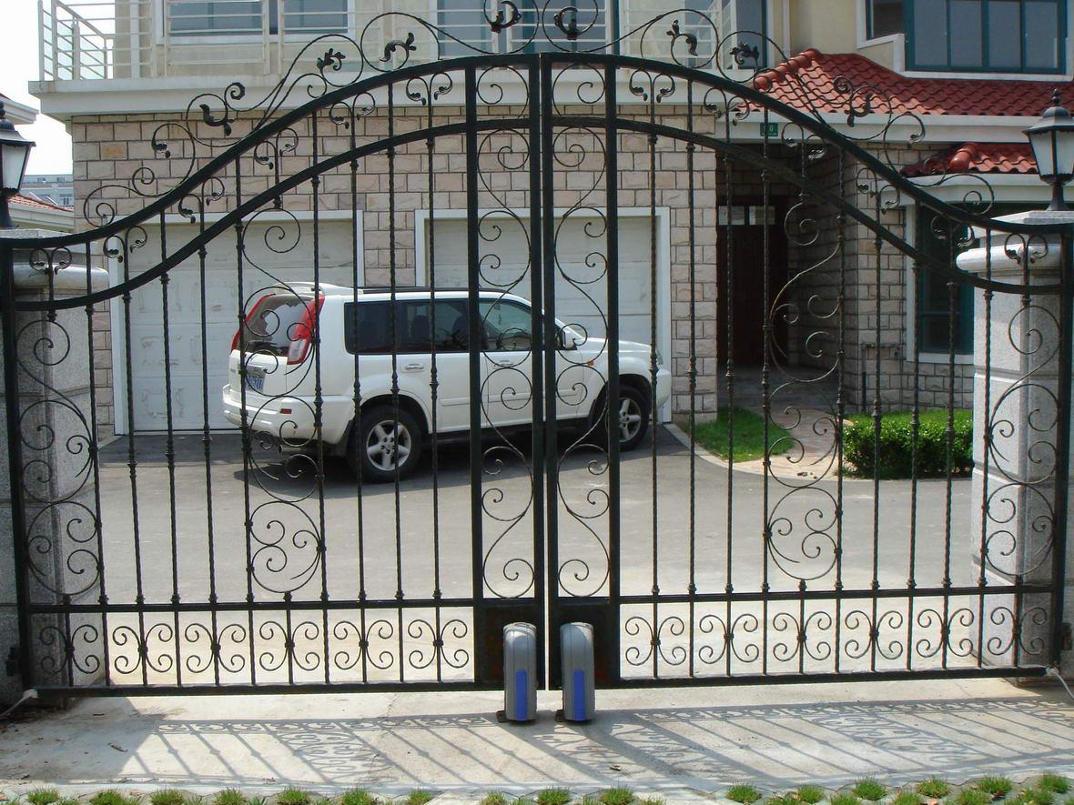 门业图片-铁艺大门安装东丽区平移门安装东丽区安装