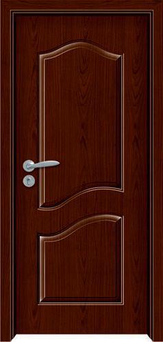 门业图片-烤漆强化木门zy-1009-红木zy-1009-红木图片
